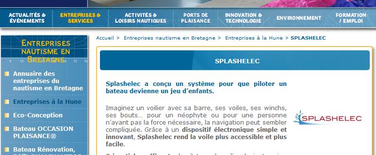 2015-12-01 - Bretagne info nautisme - Systeme pour que piloter un bateau devienne un jeu d enfants